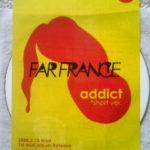 ライヴアルバムで勝負するFAR FRANCE