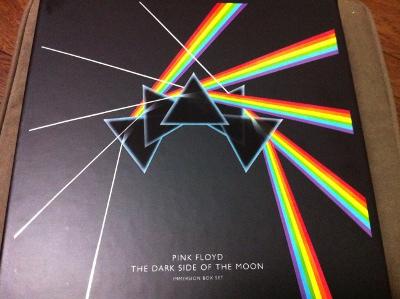 """ピンク・フロイド """"The Dark Side Of The Moon"""" のボックス"""