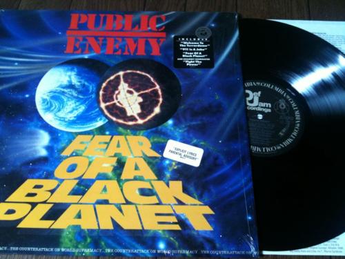 """パブリック・エナミー """"Fear of a Black Planet""""を聴いた頃の話"""