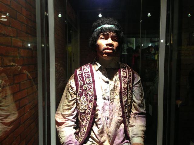 東京タワー蝋人形館のミュージシャンたち