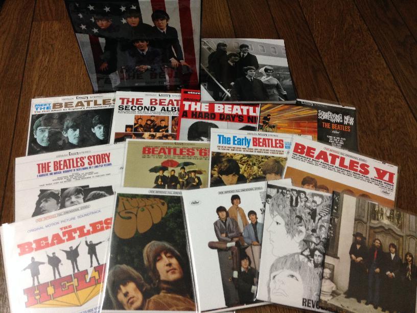 """ビートルズの""""The U.S. Albums""""のこと(その1)"""