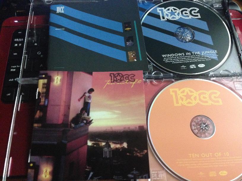 後期10CCのアルバム2枚再発