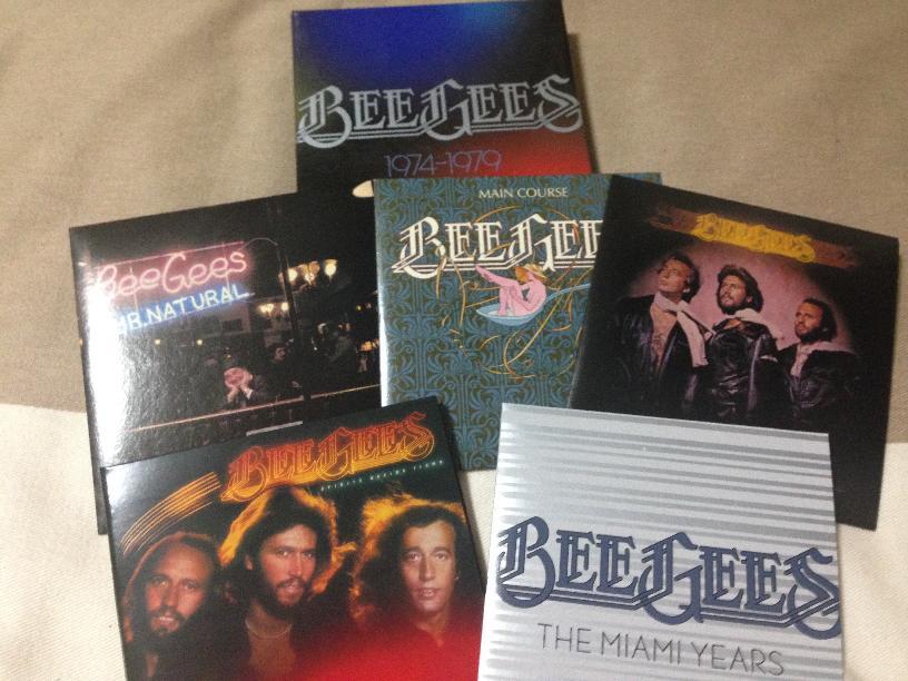 ビージーズの全盛期のアルバムをまとめたボックス