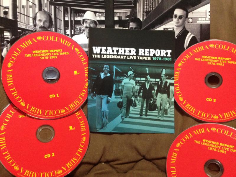 """ウェザー・リポート """"The Legendary Live Tapes: 1978-1981"""""""