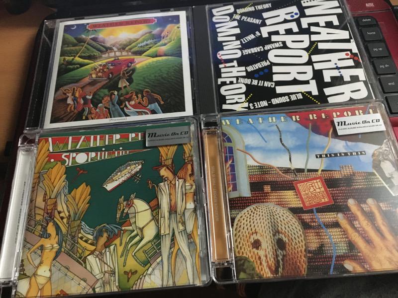 ウェザー・リポートの80年代のアルバムを聴く