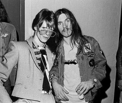Bowie and Lemmy