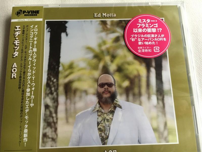 エヂ・モッタの『AOR』ってアルバムがヤバい