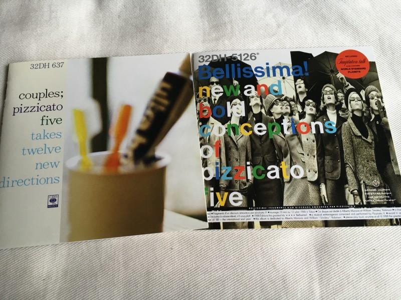 ピチカート・ファイヴ『カップルズ』と『ベリッシマ』がアナログで再発