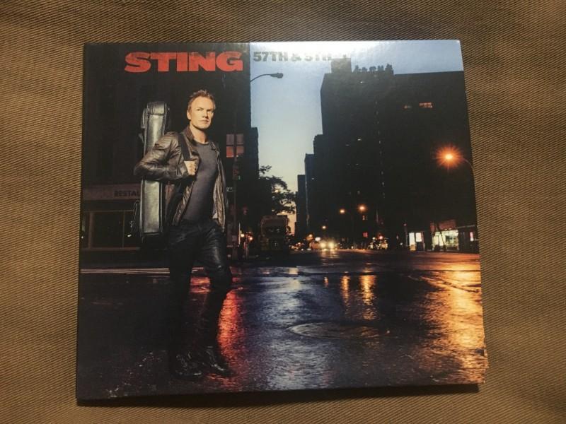 スティングの新譜『ニューヨーク9番街57丁目』