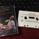 """ビル・ブラッフォード """"Master Strokes 1978-1985"""" のカセットテープ"""