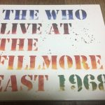 ザ・フー『Live at Fillmore East 1968』