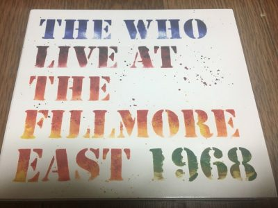 The Who / Live at The Fillmore East 1968